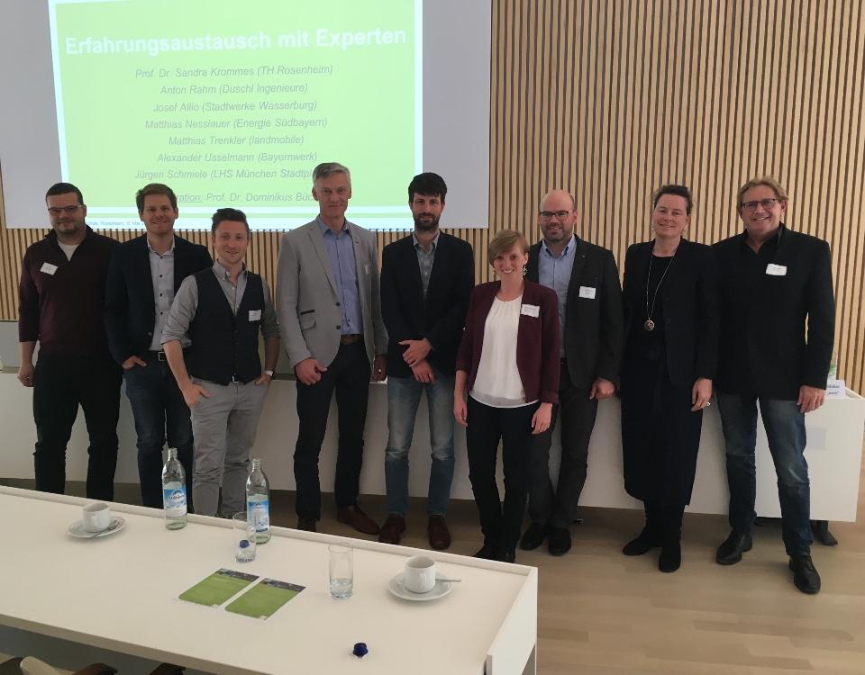 Foto mit den Referenten