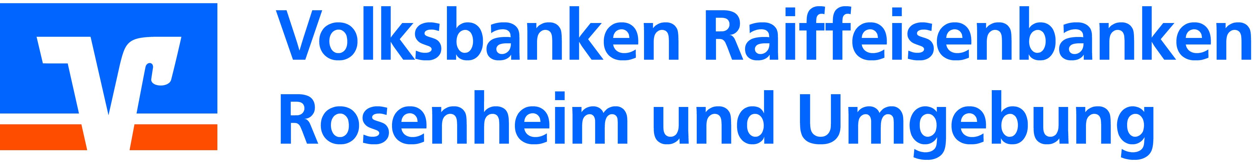 Logo der Volksbank Raiffeisenbanken in Stadt und Landkreis Rosenheim