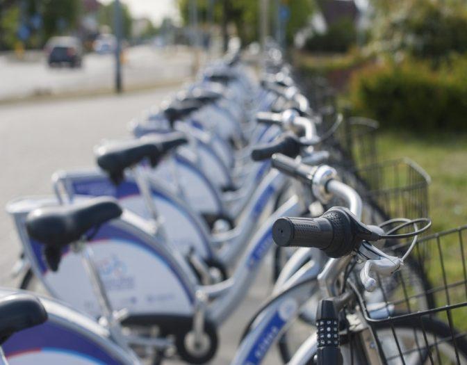 Fahrräder im Starßenverkehr