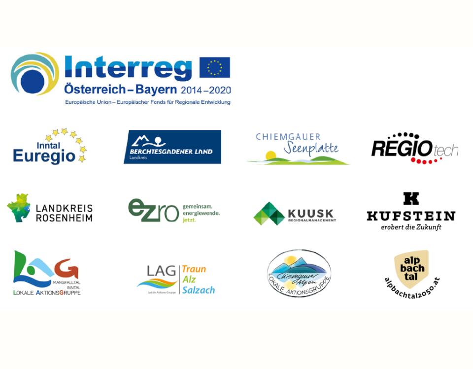 Logos aller Projektpartner