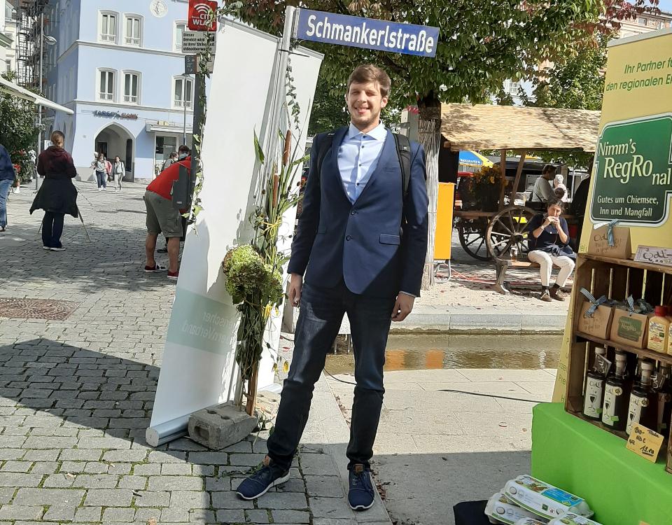 Rundgang auf der Schmankerlstraße