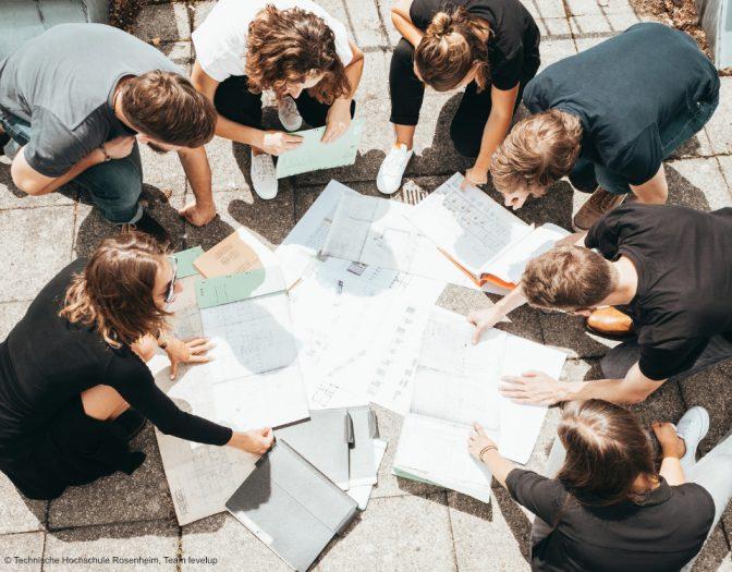 Gruppenfoto Team levelup